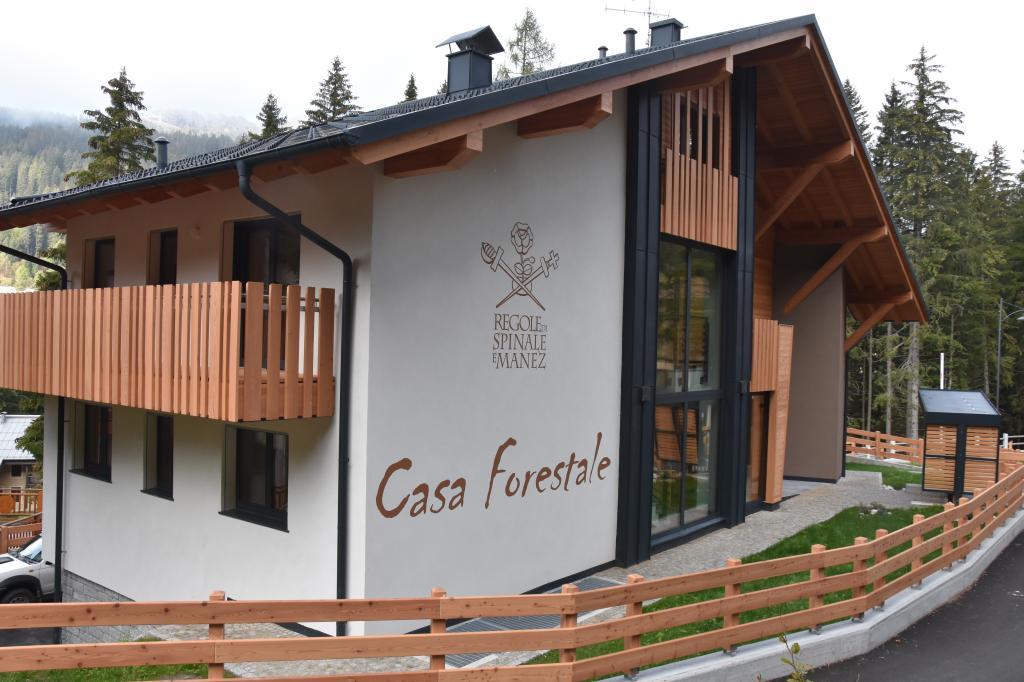 Casa Forestale Vista Via Regole 1